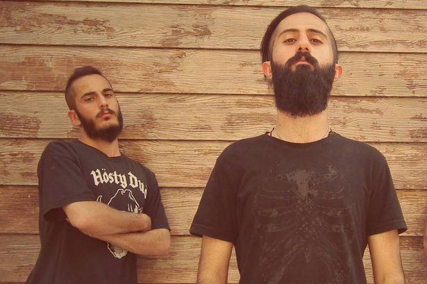 Khosravi-Arash-Ilkhani-and-Nikan-Siyanor-Khosravi-from-band-Confess